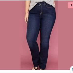 Lane Bryant distinctly boot jeans size 16 TALL